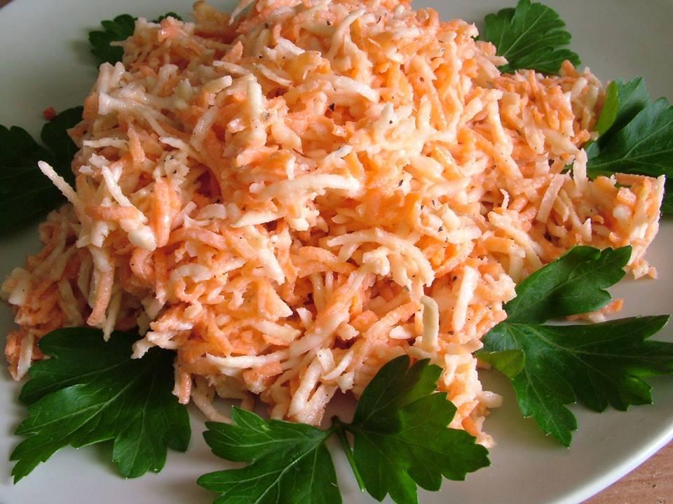 Surówka z marchewki i selera